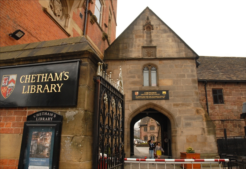 Chetham's Library in Manchester England