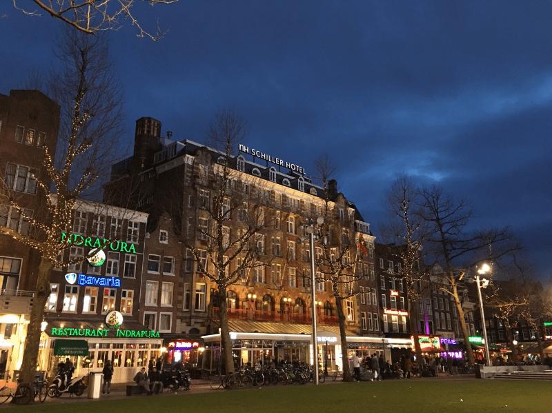 red light district, amsterdam, netherlands