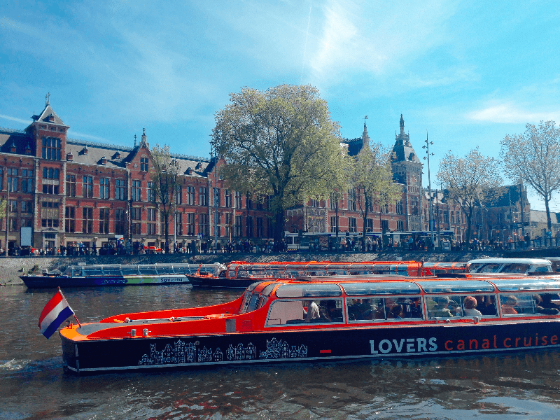 Canal Boat Tour in Amsterdam, Netherlands