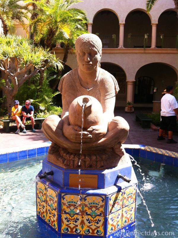 Balboa Park Prado Fountain