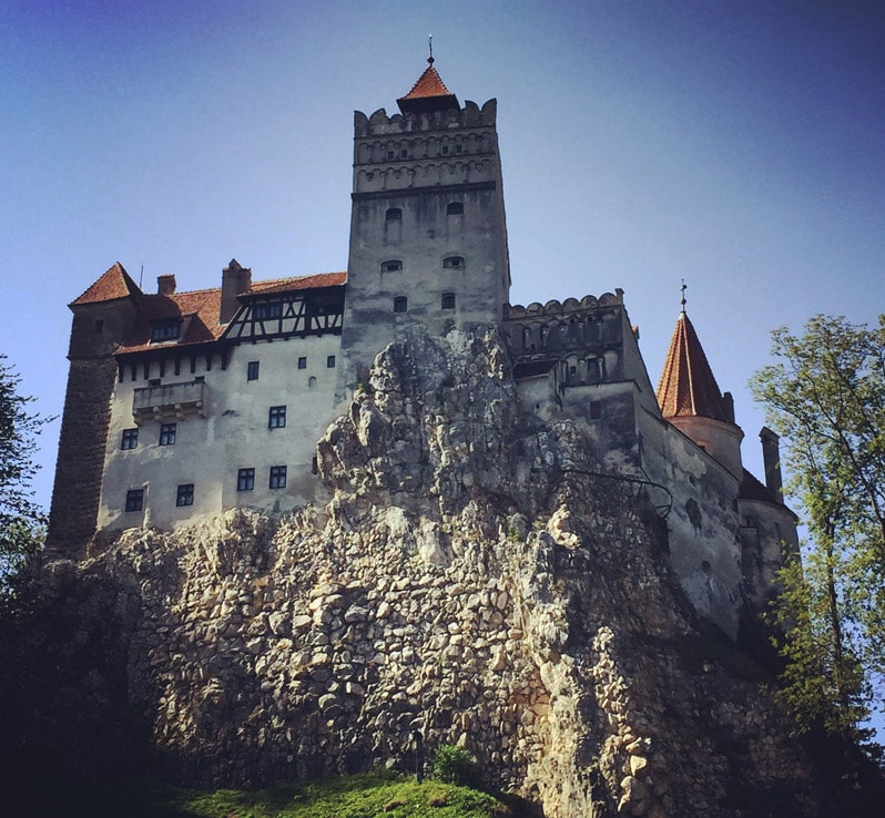 Castle Bran in Romania, home of Vlad the Impaler