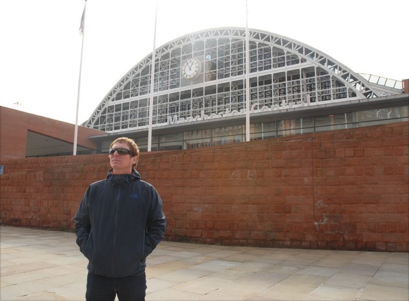 Craig Gill from Inspiral Carpets and Manchester Music Tours
