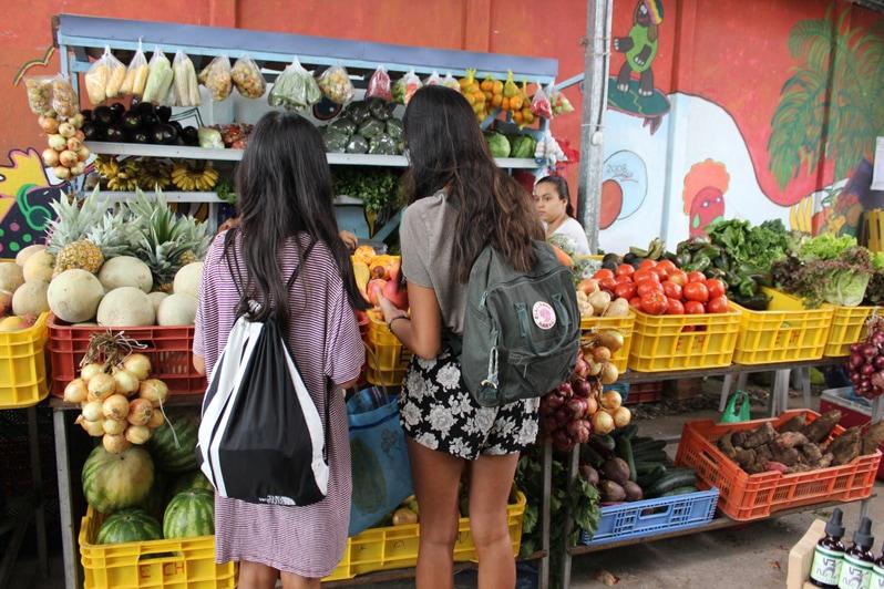 Farmers Market in Puerto Viejo de Talamanca, Costa Rica