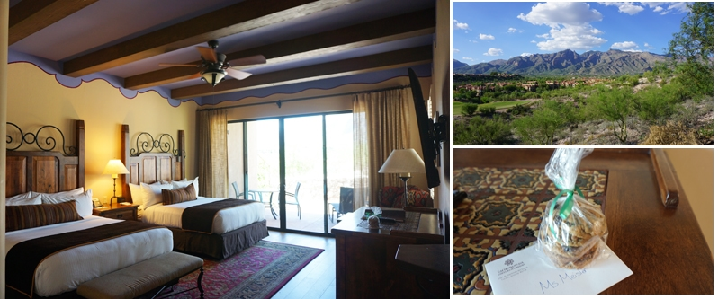 Hacienda del Sol Resort catalina guest room in Tucson, Arizona