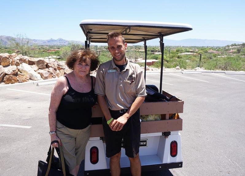 Hacienda del Sol Resort in Tucson, Arizona concierge