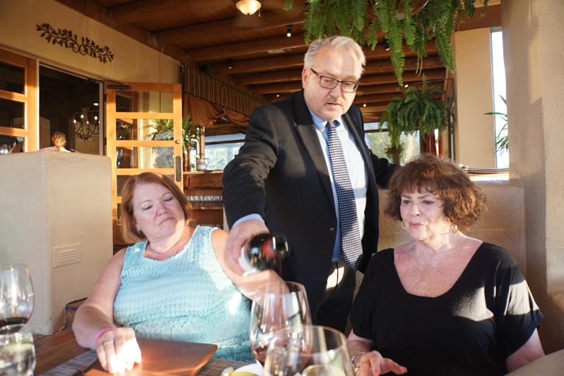 John Kulikowski, wine Hacienda del Sol Resort in Tucson, Arizona