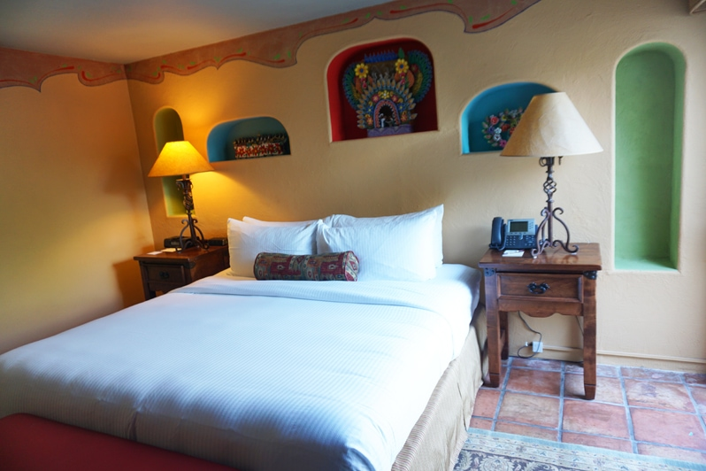 Hacienda del Sol Resort guest room in Tucson, Arizona