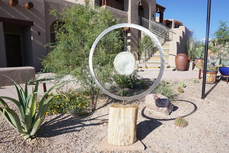 Hacienda Del Sol art sculpture