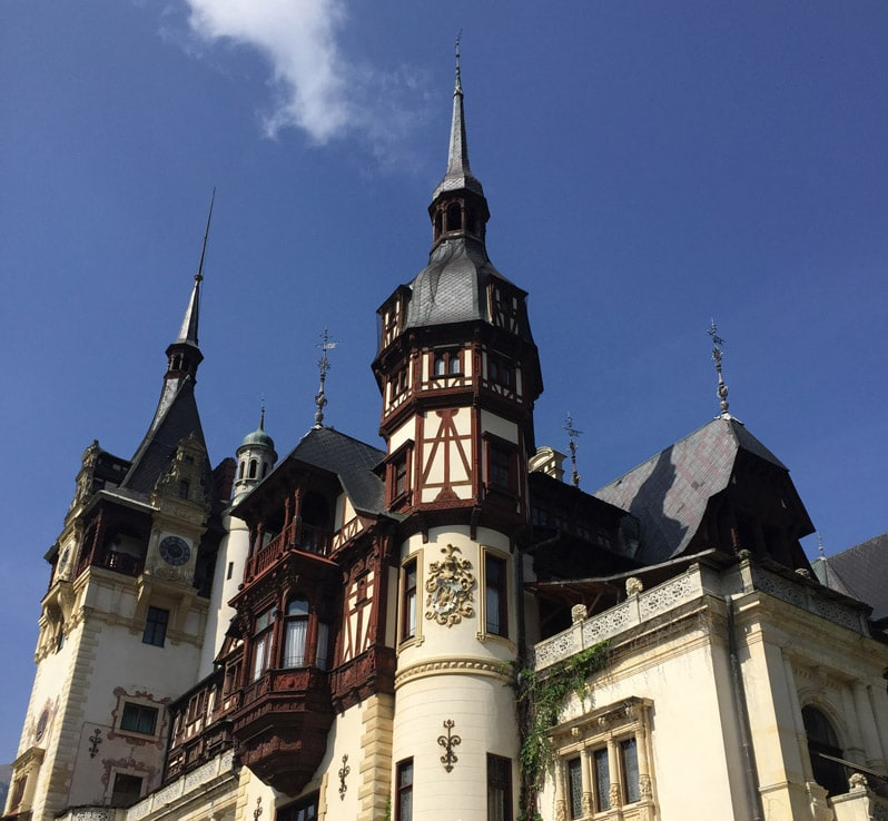Peles Castle in Brasov, Romania