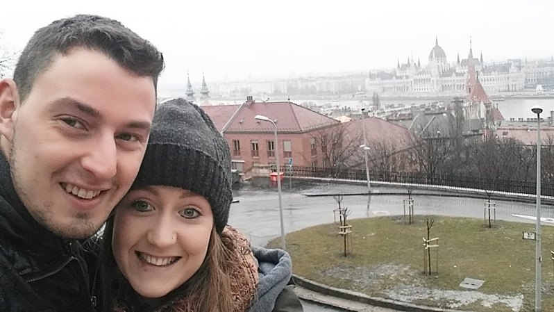 Sarah Eaton in Budapest, Hungary