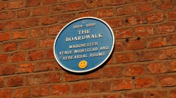 The Boardwalk nightclub from Madchester music days
