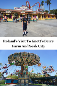 Roland's visit to Knots Berry Farm