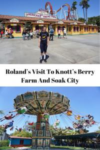 Roland's visit to Knots Berry Farm