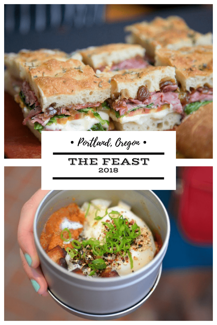 Portland oregon the feast 2018