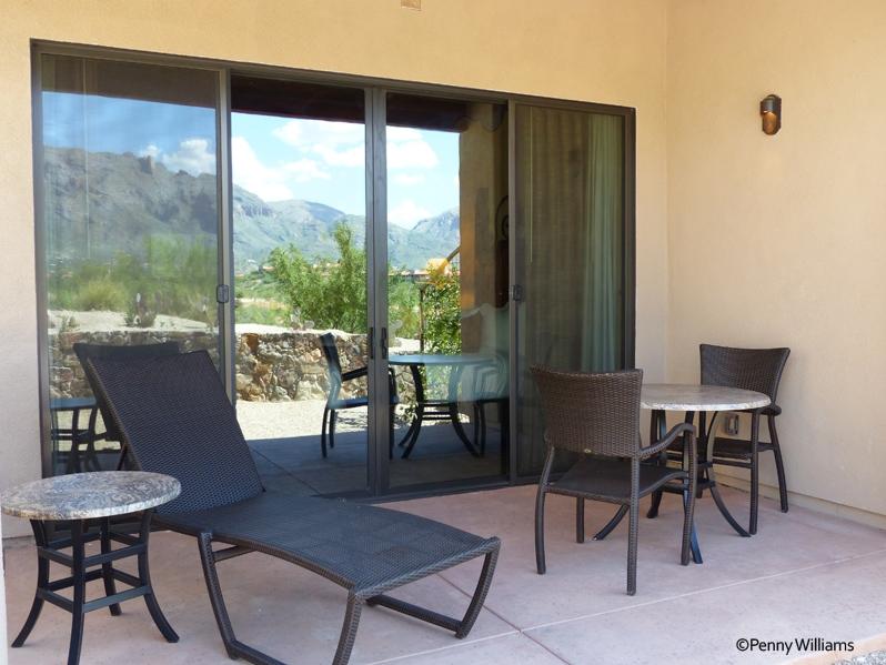Hacienda Del Sol Guest Ranch Resort, tucson, arizona room patio