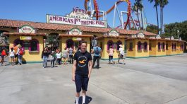 Knott's Berry Farm Amusement Park in Buena Park, California