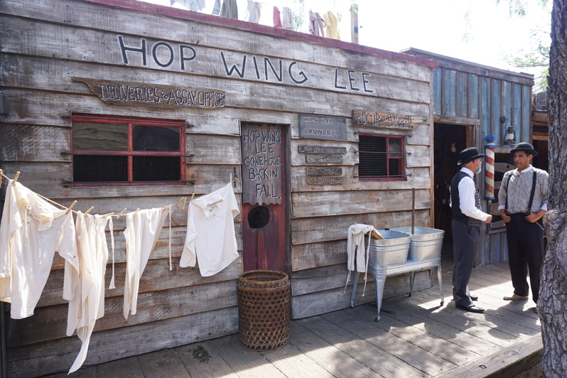 Knott's Berry Farm Ghost Town Alive Barbershop