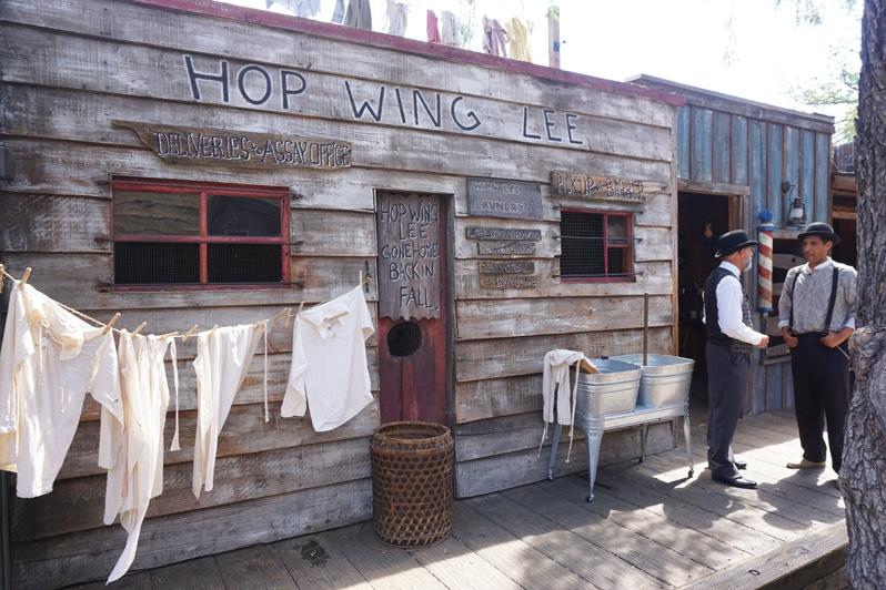 Knott's Berry Farm Ghost Town Alive Barbershop