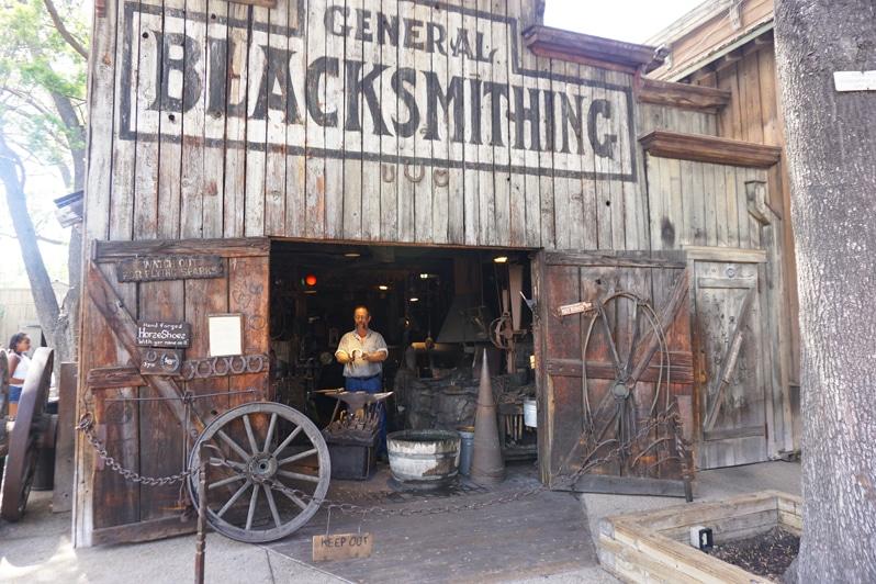 Knott's Berry Farm Ghost Town Alive Blacksmith