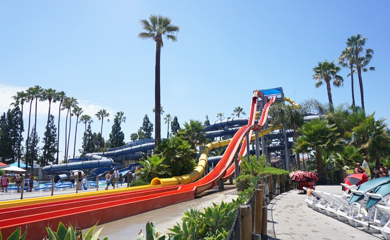 Malibu Run at Knott's Soak City in Buena Park, California
