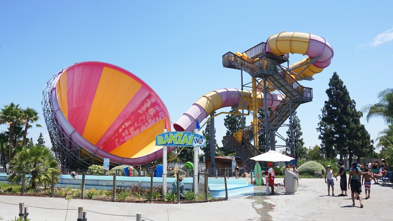 Pacific Spin at Knott's Soak City in Buena Park, California