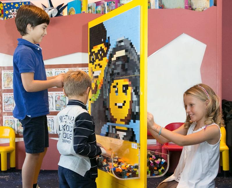 msc cruise lego family activity