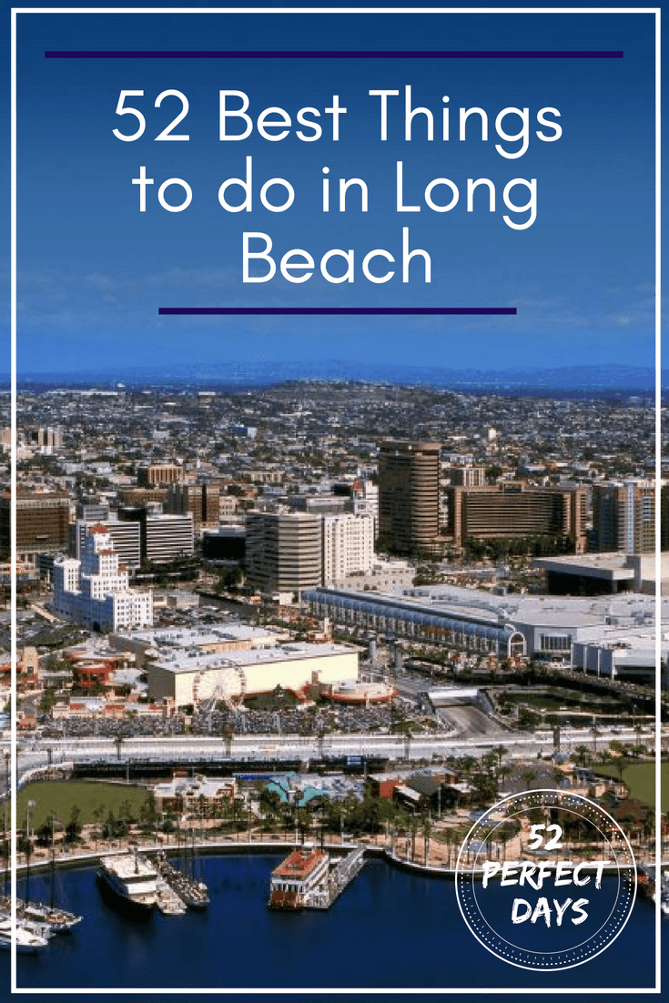 52 Things To Do In Long Beach, California including the famous RMS Queen Mary and the waterfront Aquarium of the Pacific. If you are visiting Southern California, make sure to set aside some time to explore Long Beach.