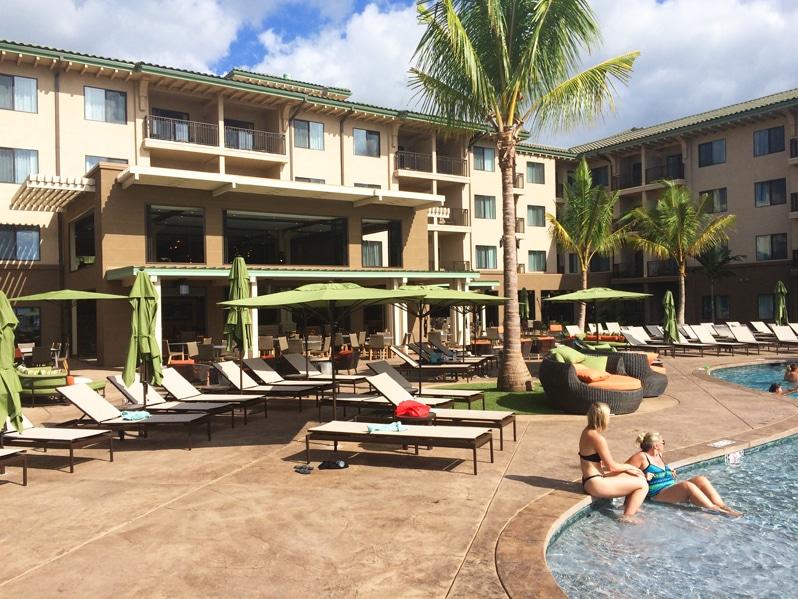 Marriott Residence Inn in Wailea on the Hawaiian Island of Maui.