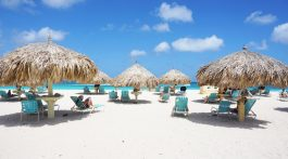 Aruba white sand beach