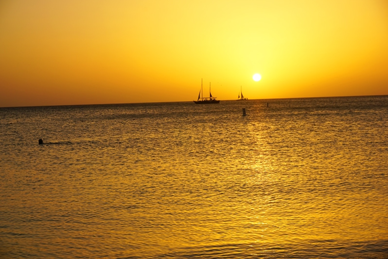 Atardi Restaurant Aruba Marriott Sunset