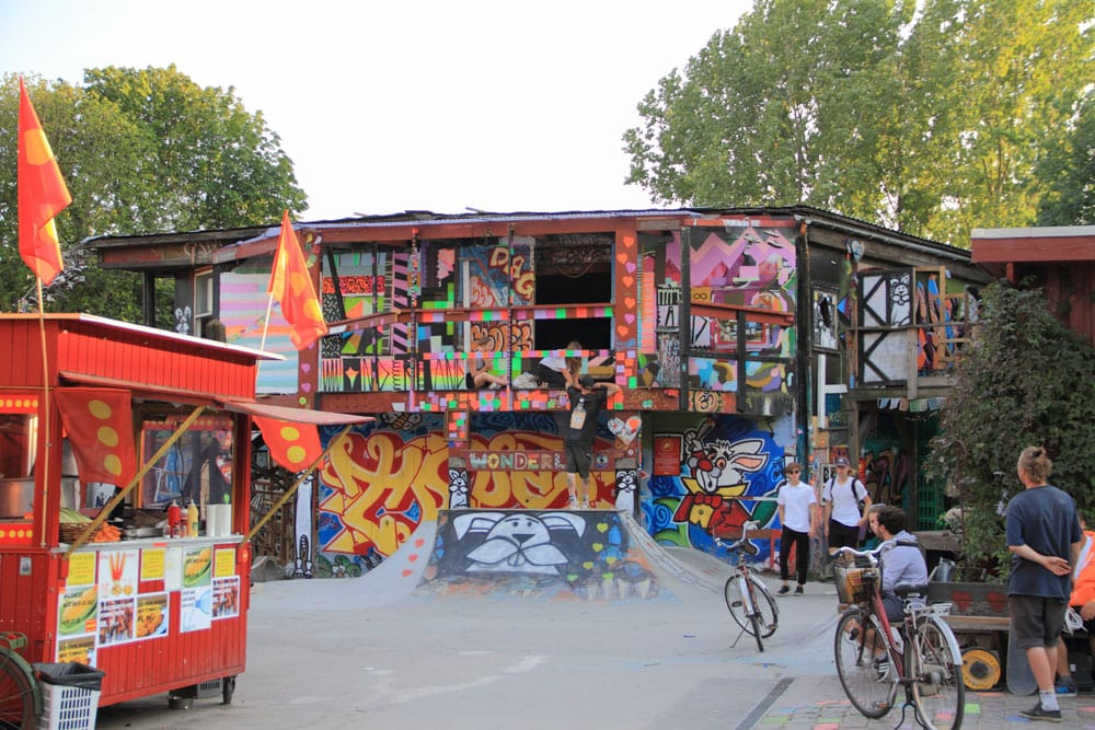 Christiania Freetown in Copenhagen