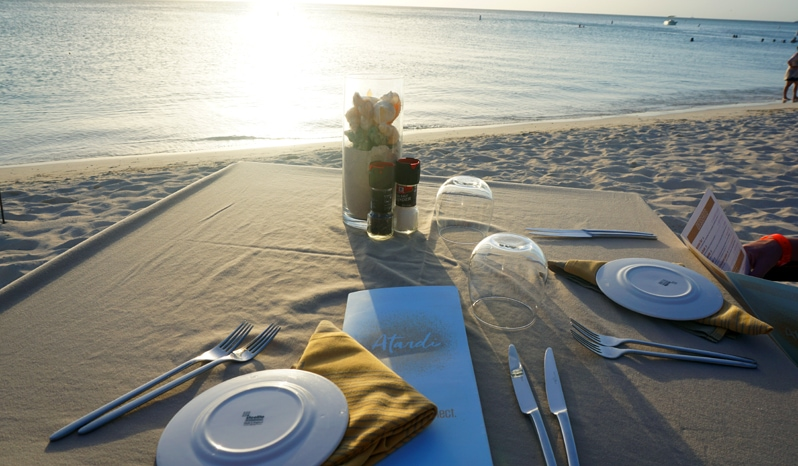 Atardi Restaurant Aruba Marriott