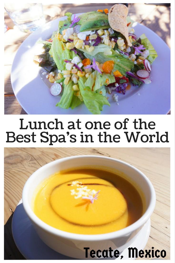 Lunch at Rancho la Puerta