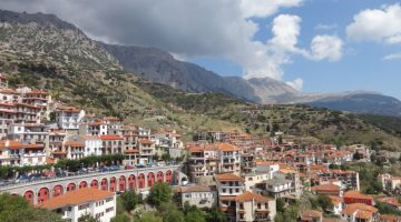Mount Parnassus village of Arachova, Greece