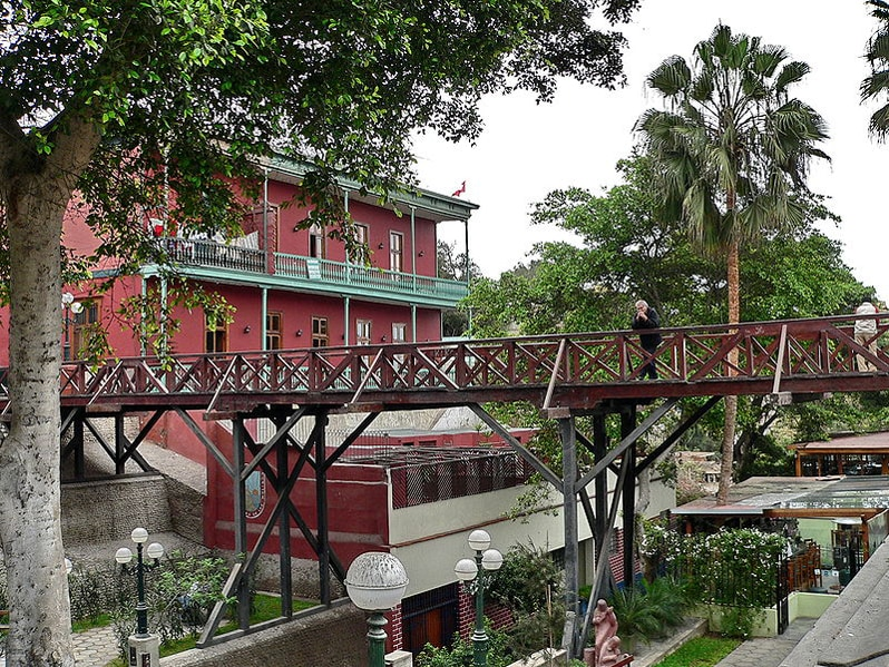 Bridge of Sights in Barranco, Peru