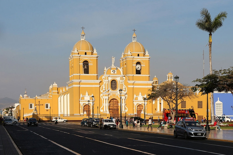 Cathedral of trujillo in peru