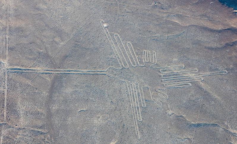 Lines of Nasca in Peru