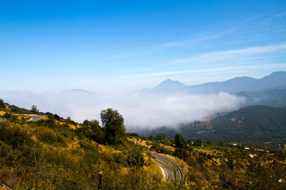 la campana hike in Chile