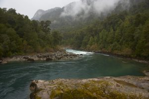 river futaleufu hike in Chile