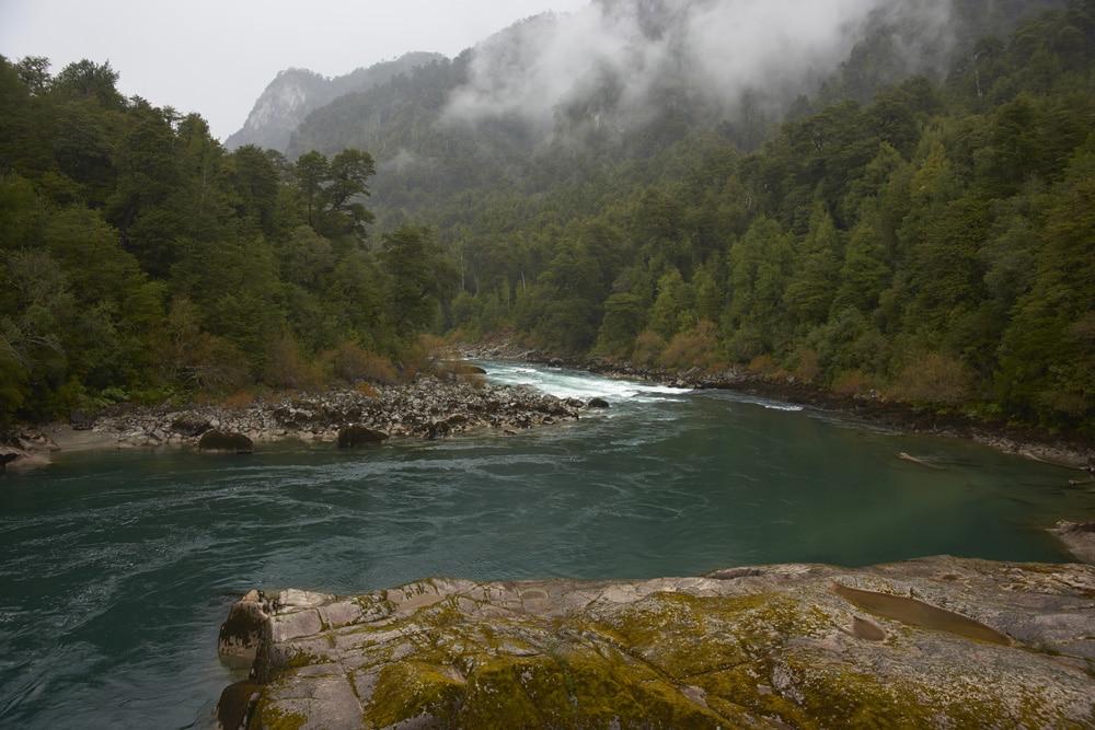 river futaleufu hike in Chile