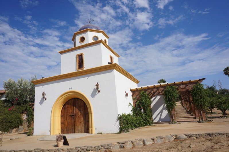 Wine tasting at Adobe Guadalupe in Baja, California