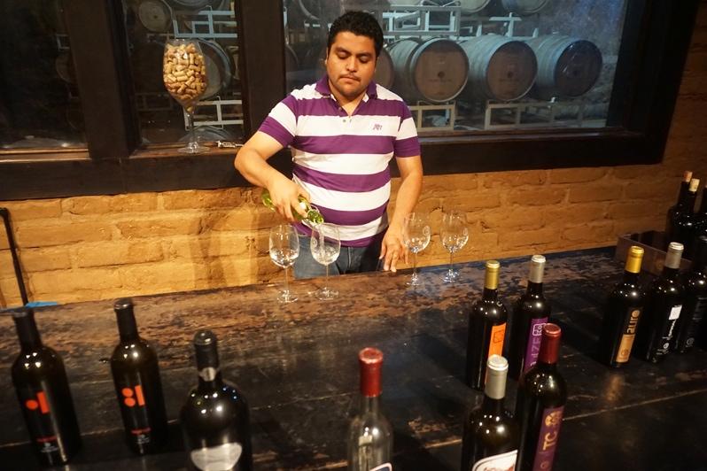 Baron Balche winery in Valle de Guadalupe, Mexico