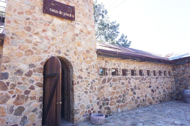 Casa de Piedra in valle de guadalupe mexico
