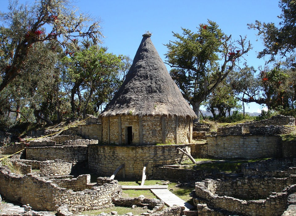 Chachapoyas Kuelap citadel in Peru