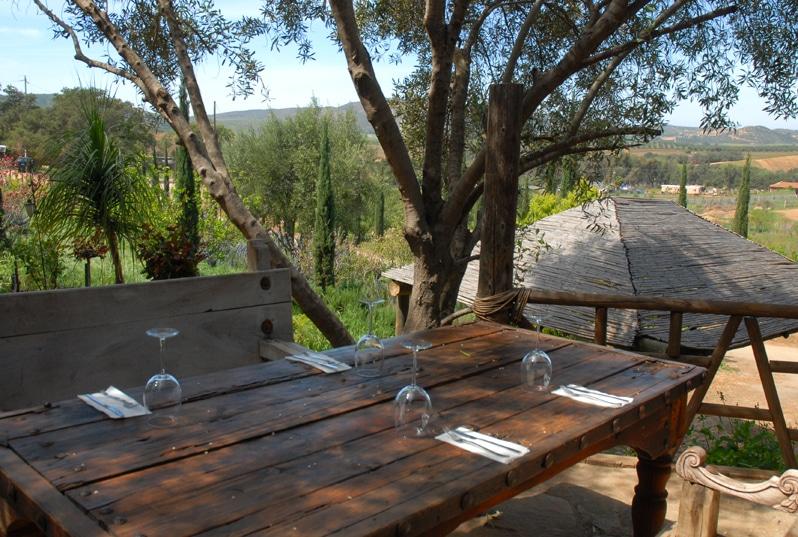 Malva Restaurant in Valle de Guadalupe