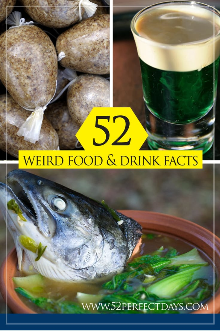 weird food and drink