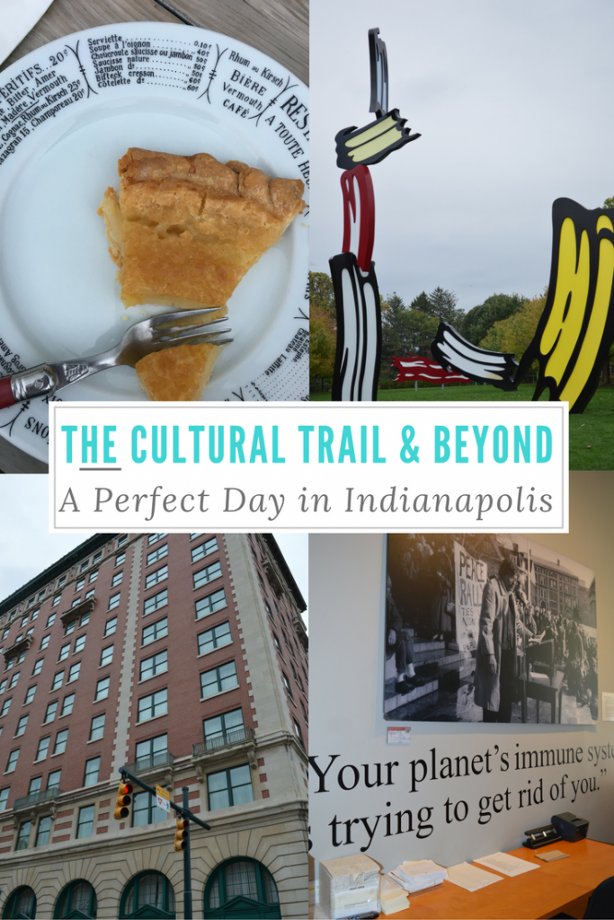 You may be surprised at the number of fun things to do in Indianapolis. Here is how to spend one Perfect Day in Indianapolis. The Cultural Trail and Beyond: A Perfect Day in Indianapol