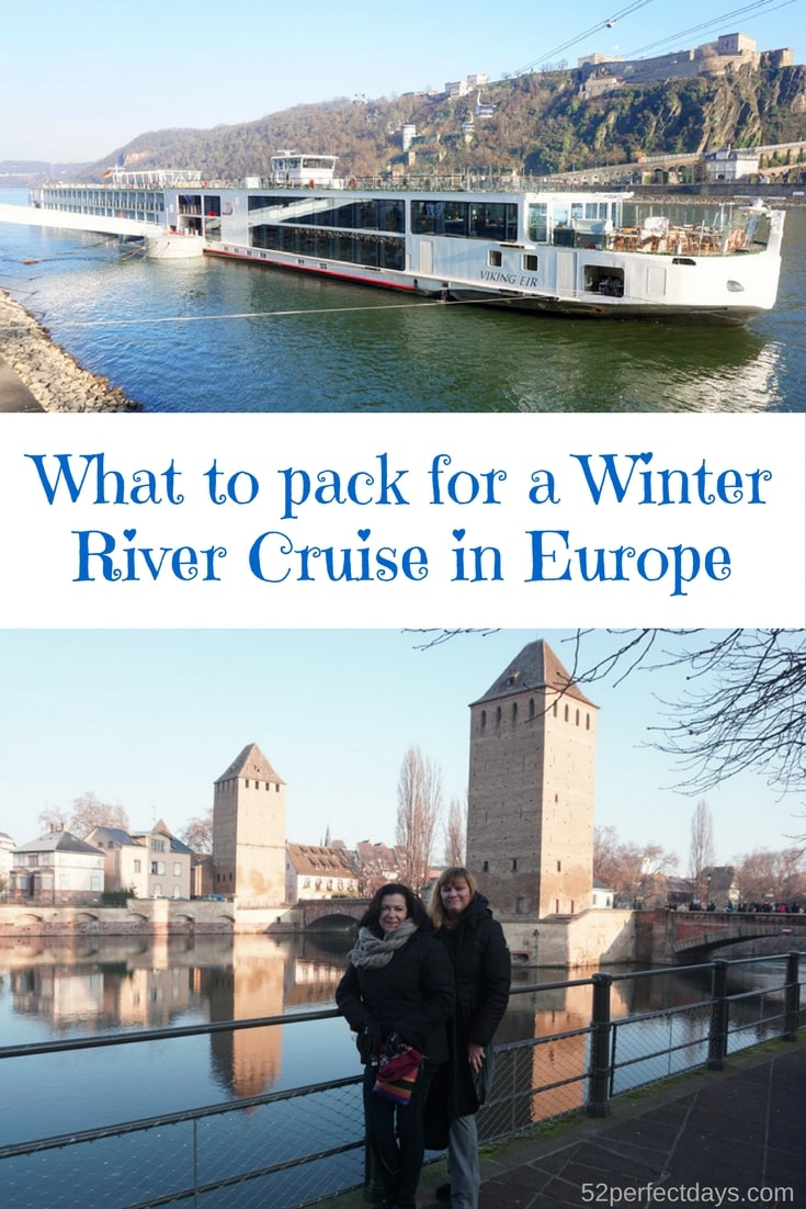 What to pack for a Winter River Cruise in Europe