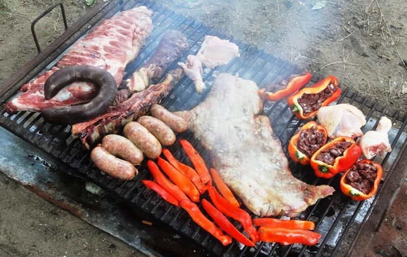 Asado street food Buenos Aires