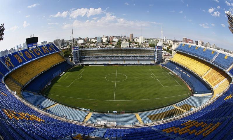 La Bombonera stadium in Buenos Aires